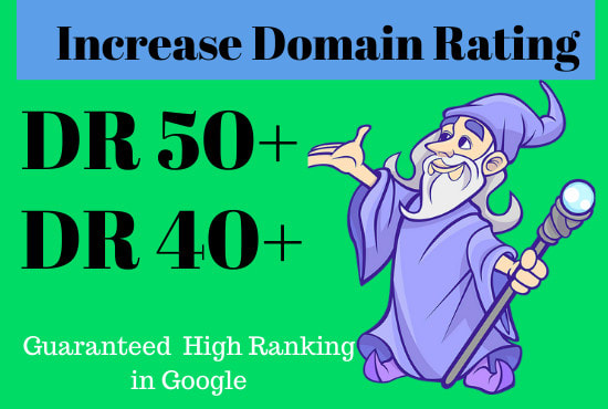 I will increase your website ahrefs domain rating DR 40+ with-out using redirect method
