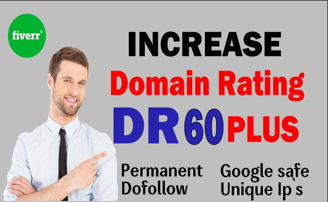 I will increase domain rating DR ahrefs to 50+
