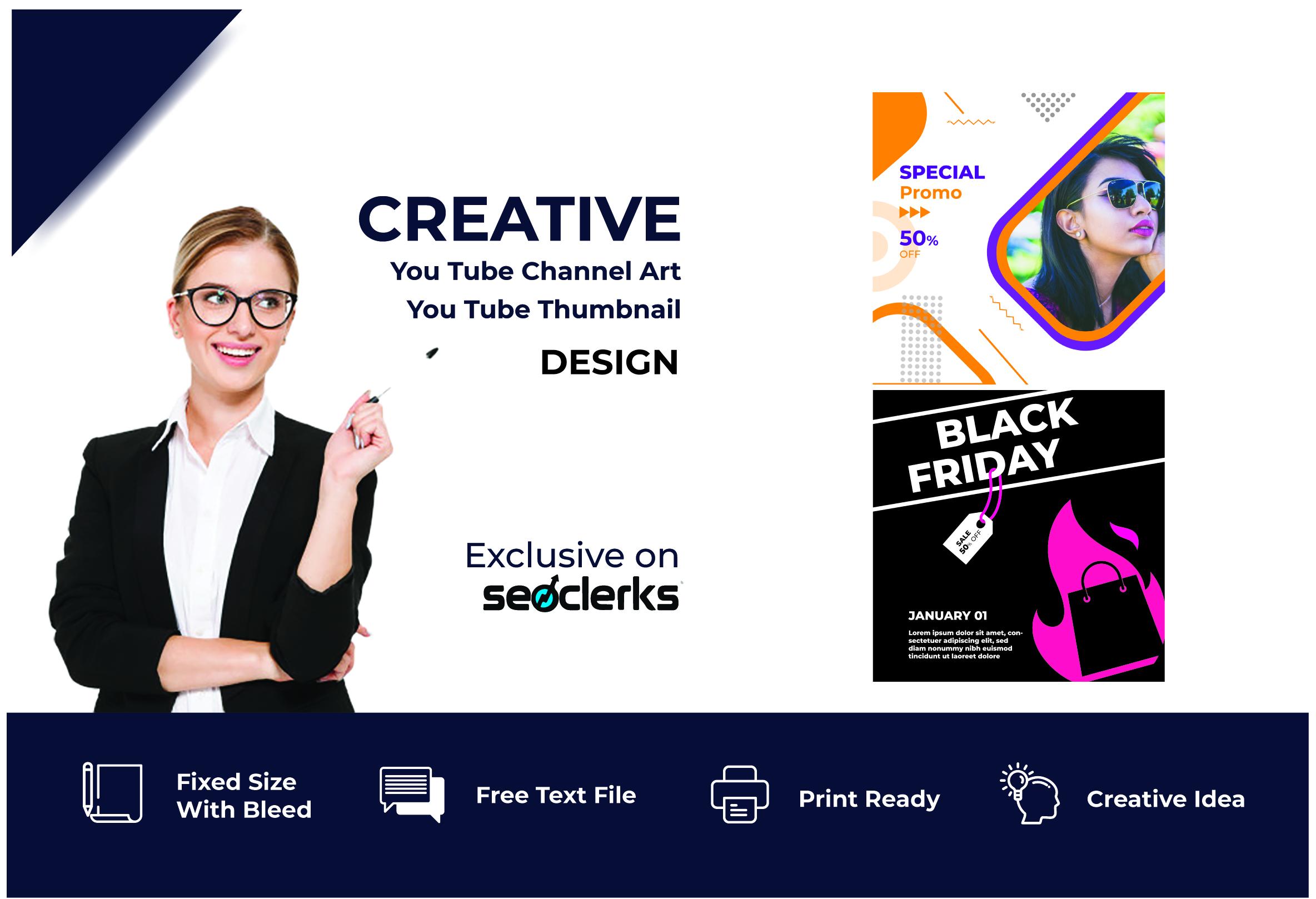 I will create Exclusive social media post design