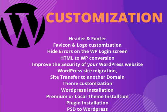 I will customize,  edit,  redesign and fix CSS issue WordPress website
