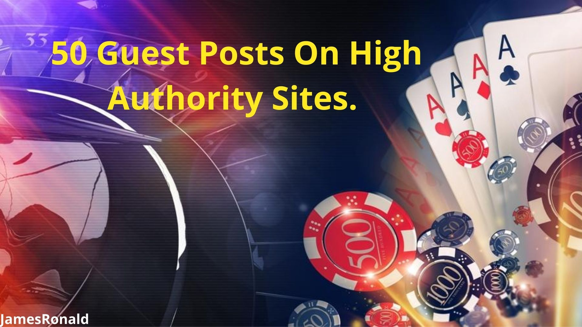 50 Premium Guest Post & Blogger Outreach Service