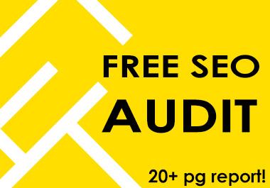 FREE OFFER Custom SEO Site Audit - Delivered Today