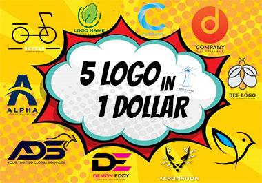 I Will Design professionally Modern Minimalist Logo