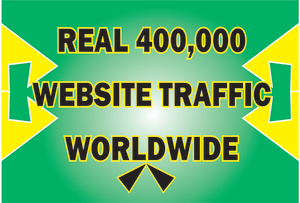 400,000 web traffic worldwide from TOP Social Media for