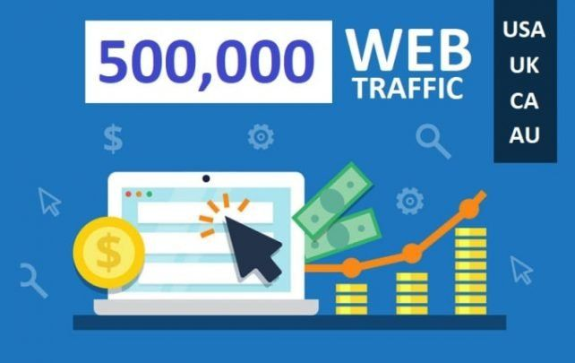 500,000 web traffic worldwide from TOP Social Media for