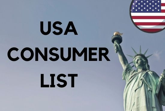 I will Provide 100k or more USA consumer email list leads