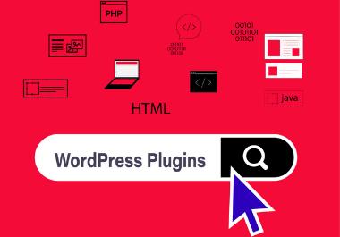 I will setup wordpress plugin for you.