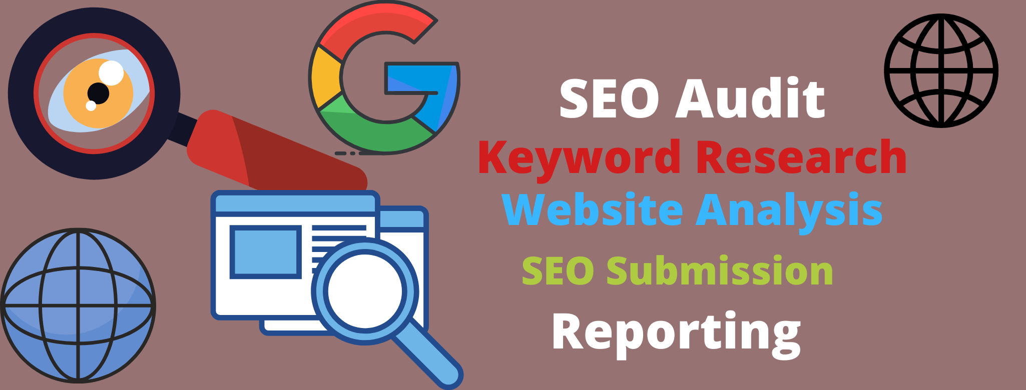 Provide High quality SEO Audit Report manually for your website