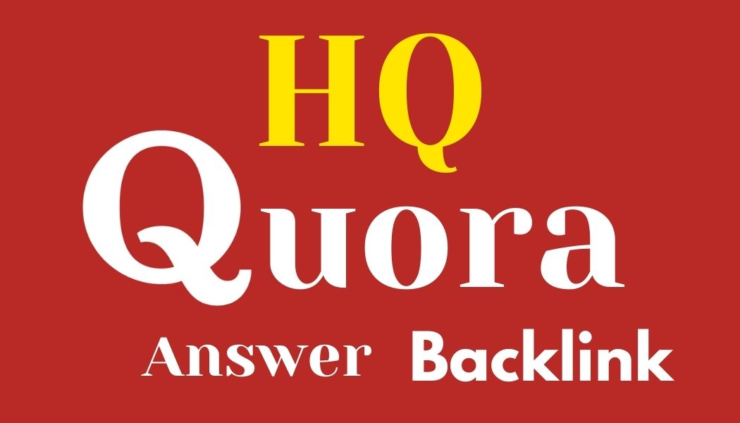 Promote your website Get Manually HQ 10 Quora Answer & backlink