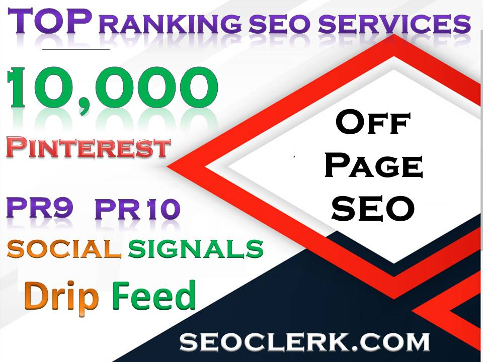 10,000 Pinterest PR10 Social Signals Share for SEO Google Ranking Help To Increase Website Traffic