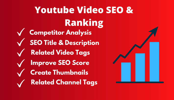 I'll do youtube seo to rank video,  youtube optimization and management