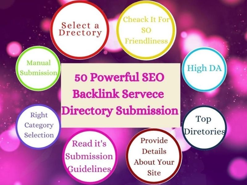 I will Provide 50 Manually High-Quality Directory Submission