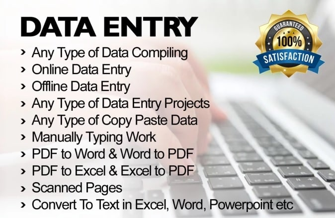 I will do data entry and translations in different launguages.