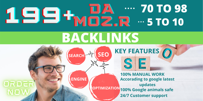 I Will Create 199+ DOFOLLOW High PR9 or DA 70+ HQ Google Dominating Profile BACKLINKS