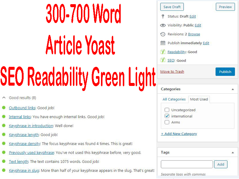 300-700 words a unique article or rewrite