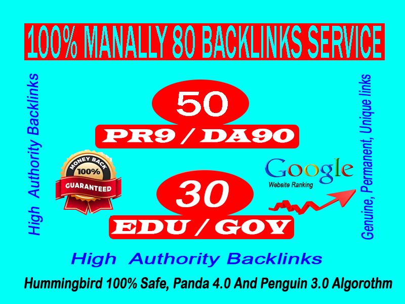 Limited Offer- 50 USA and 30 Edu Gov Backlinks High-Quality Authority Domains-Skyrocket your site