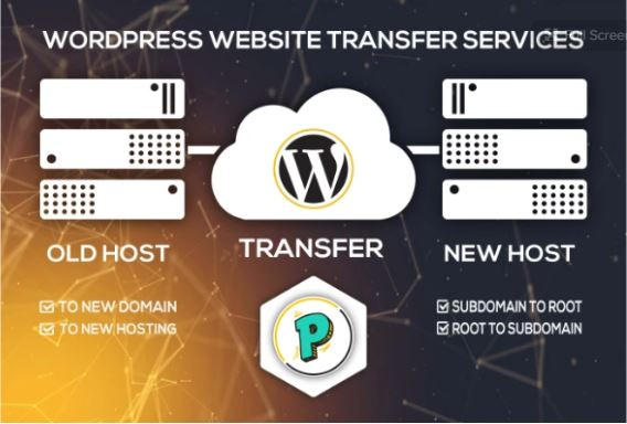 I will transfer or backup your wordpress website or domain to new hosting
