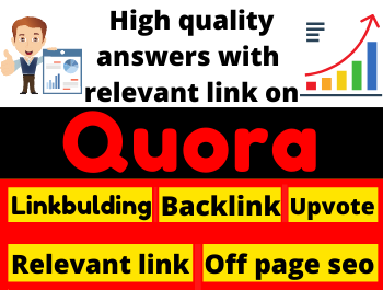 Promote your Website in 25 High Quality Quora Answer with Traffic and Backlinks