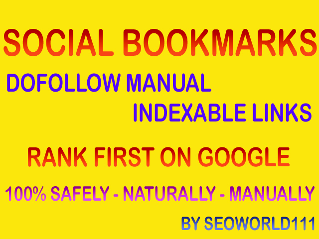 100 Dofollow Social Bookmarks - Rank First On Google