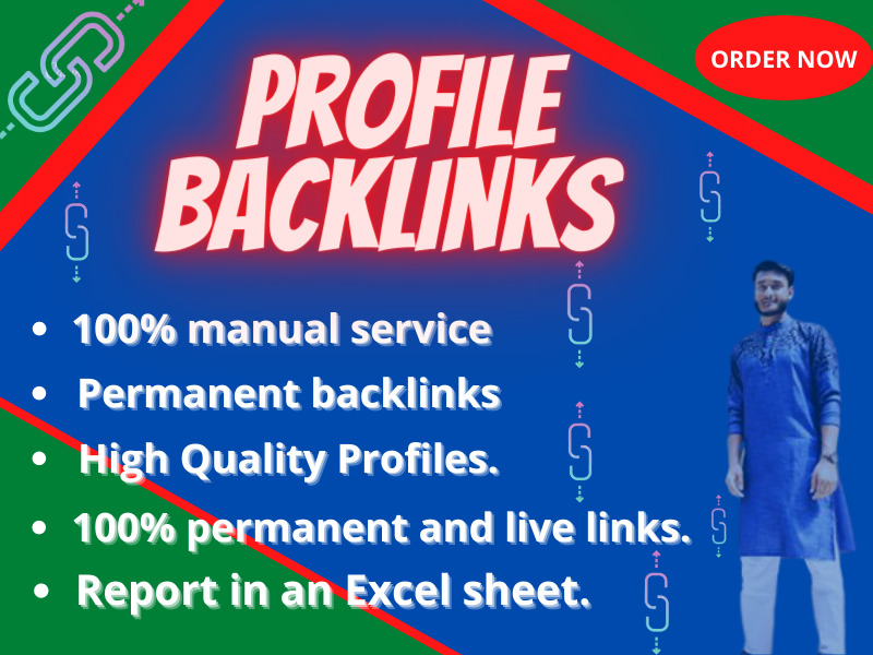 I Will Create 75 High Authority Profile Backlinks DA 95 Plus For Elevate Your Ranking