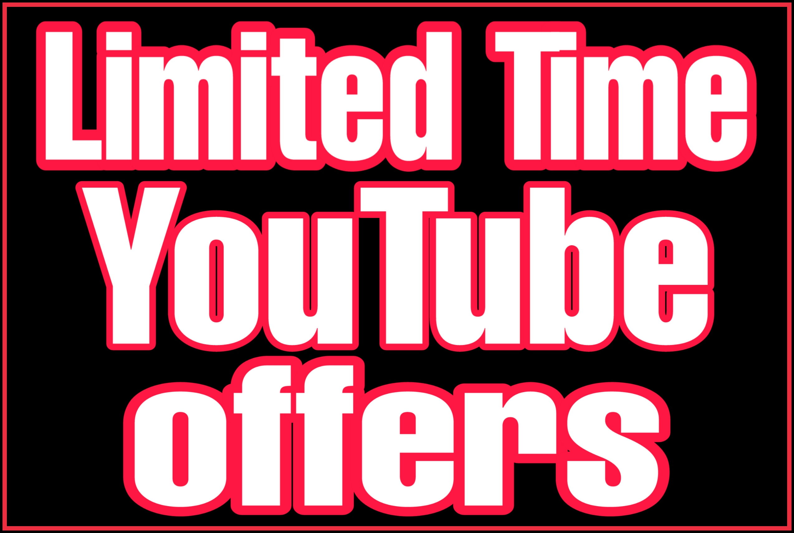 Permanent High quality youtube video promotion & marketing