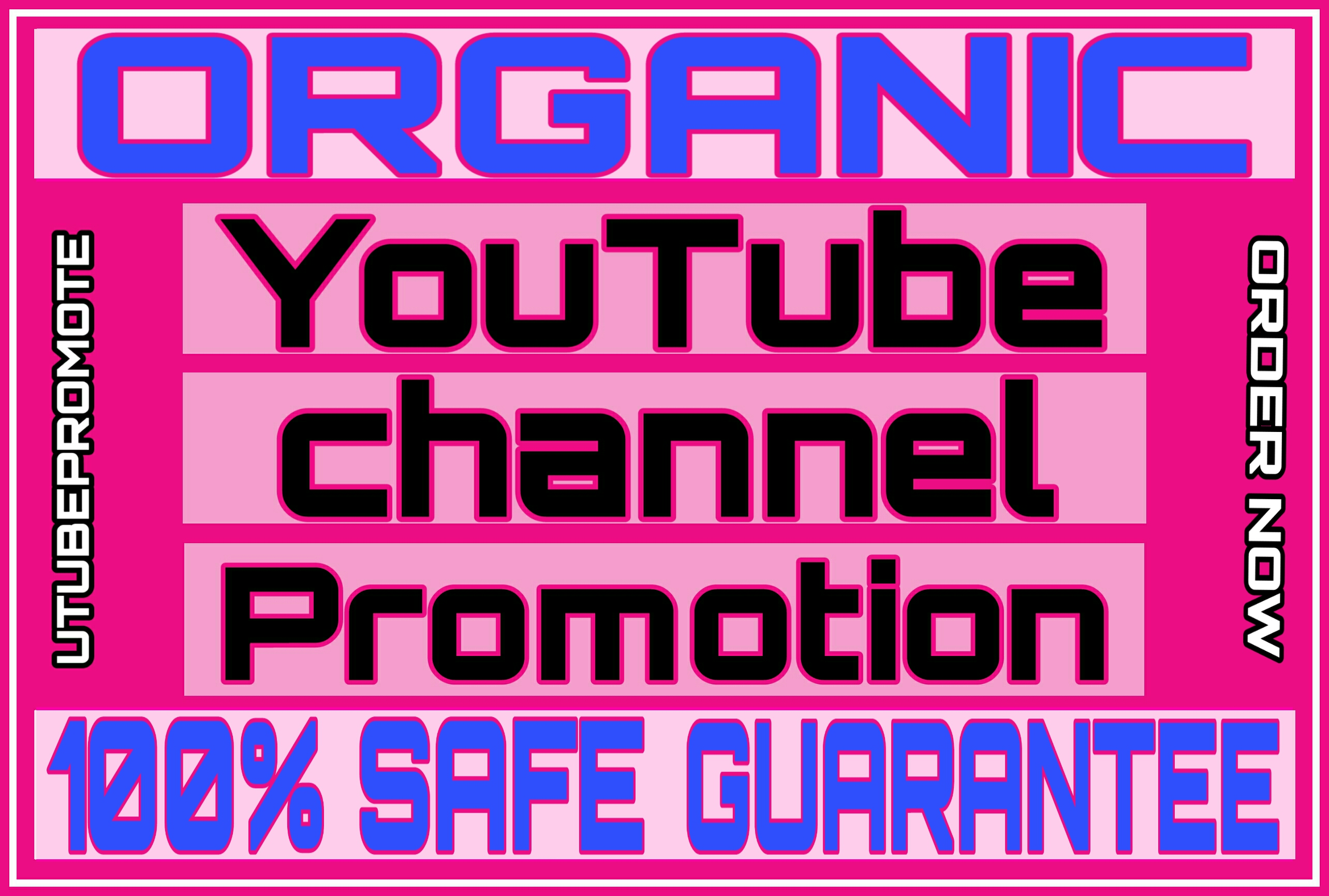 Organic Real & Active permanent youtube promotion ASAP delivery