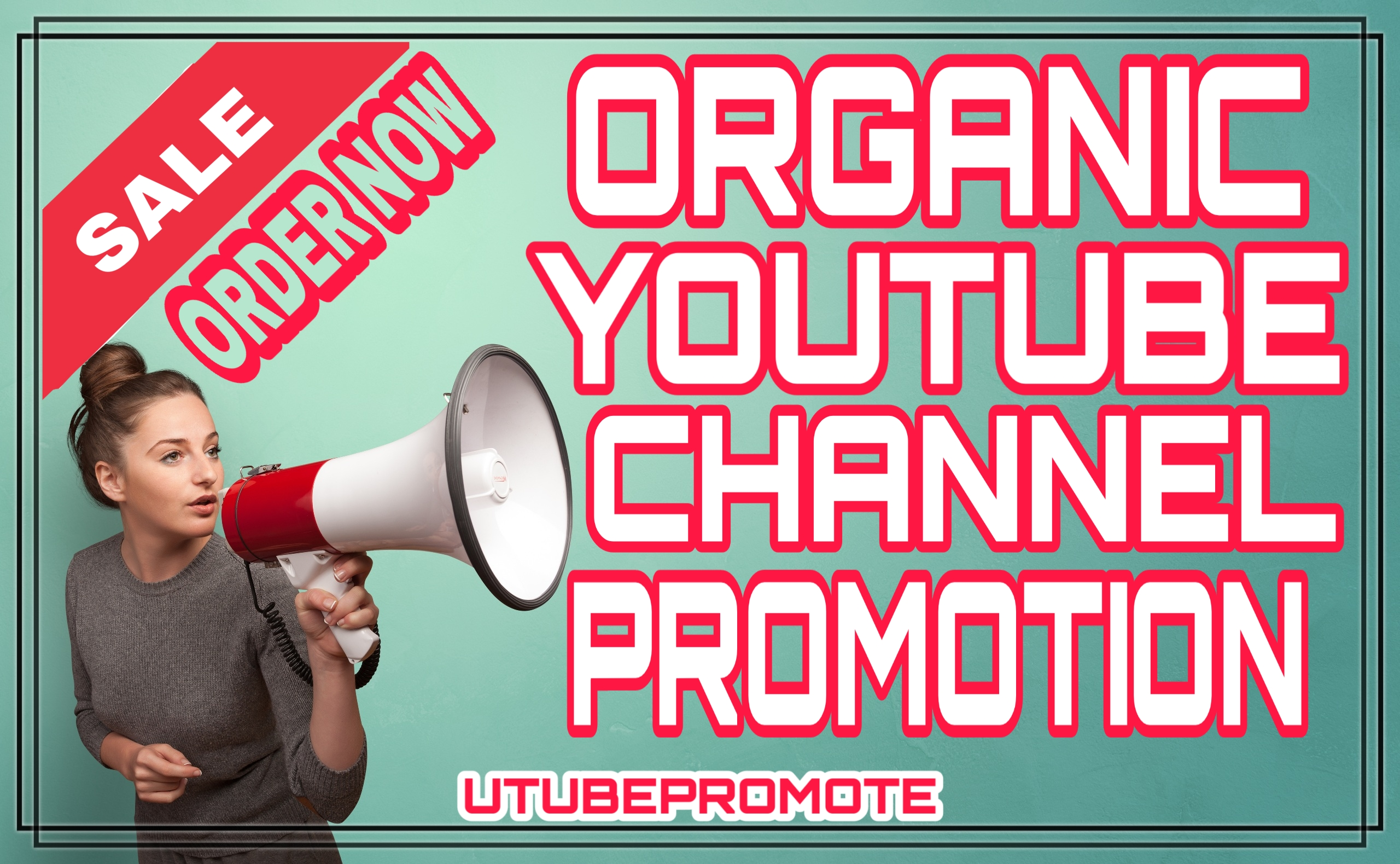 Organic Real & Active permanent youtube promotion & marketing