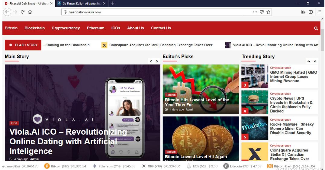 I will build premium autopilot bitcoin crypto news site for passive income