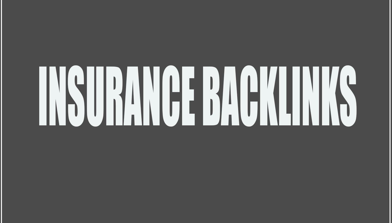 do DA 70 to 75 insurance site permanent dofollow backlinks for seo service