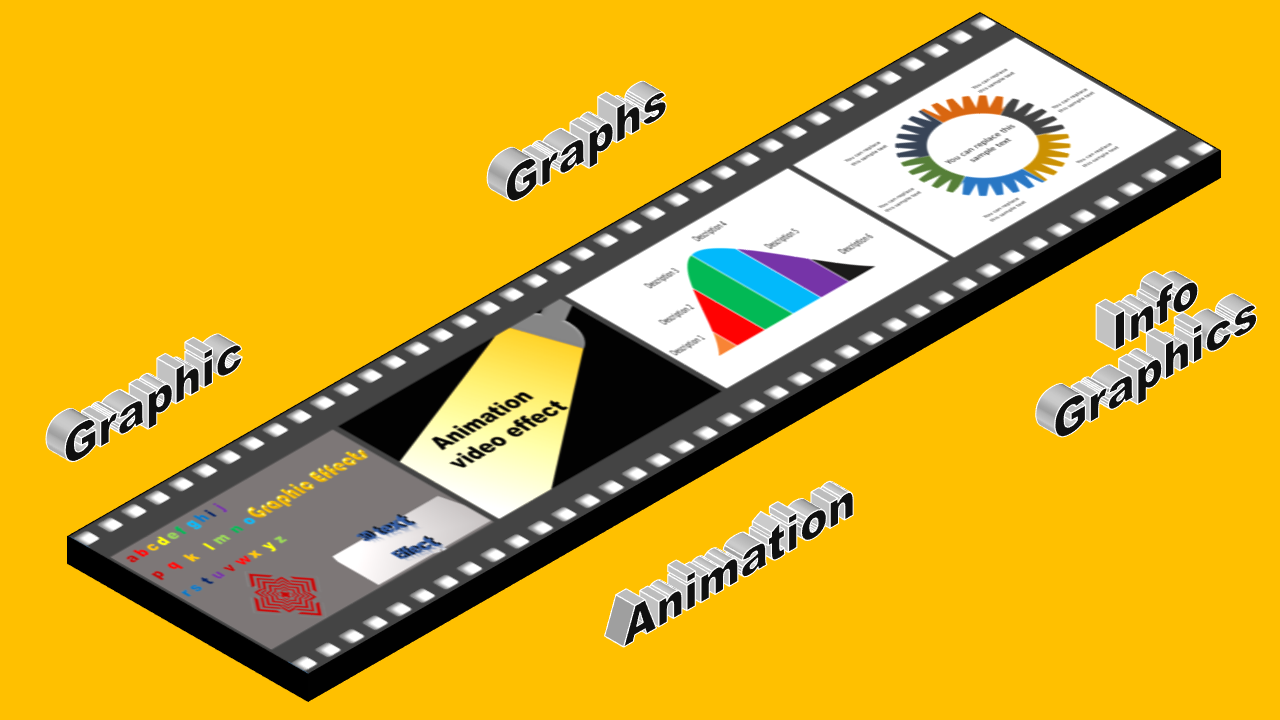 Animated GIF and Static with PNG for Promotion online