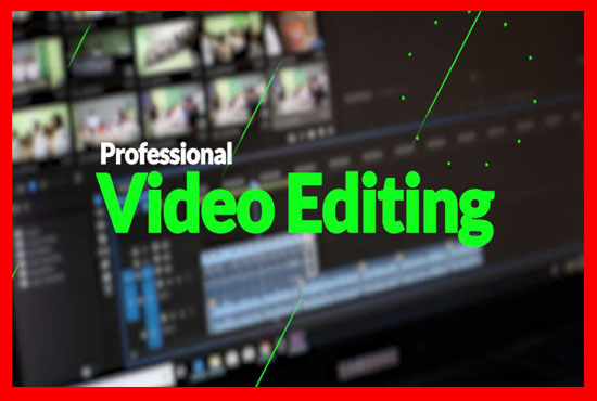 I will professionally edit your video within 12 hour