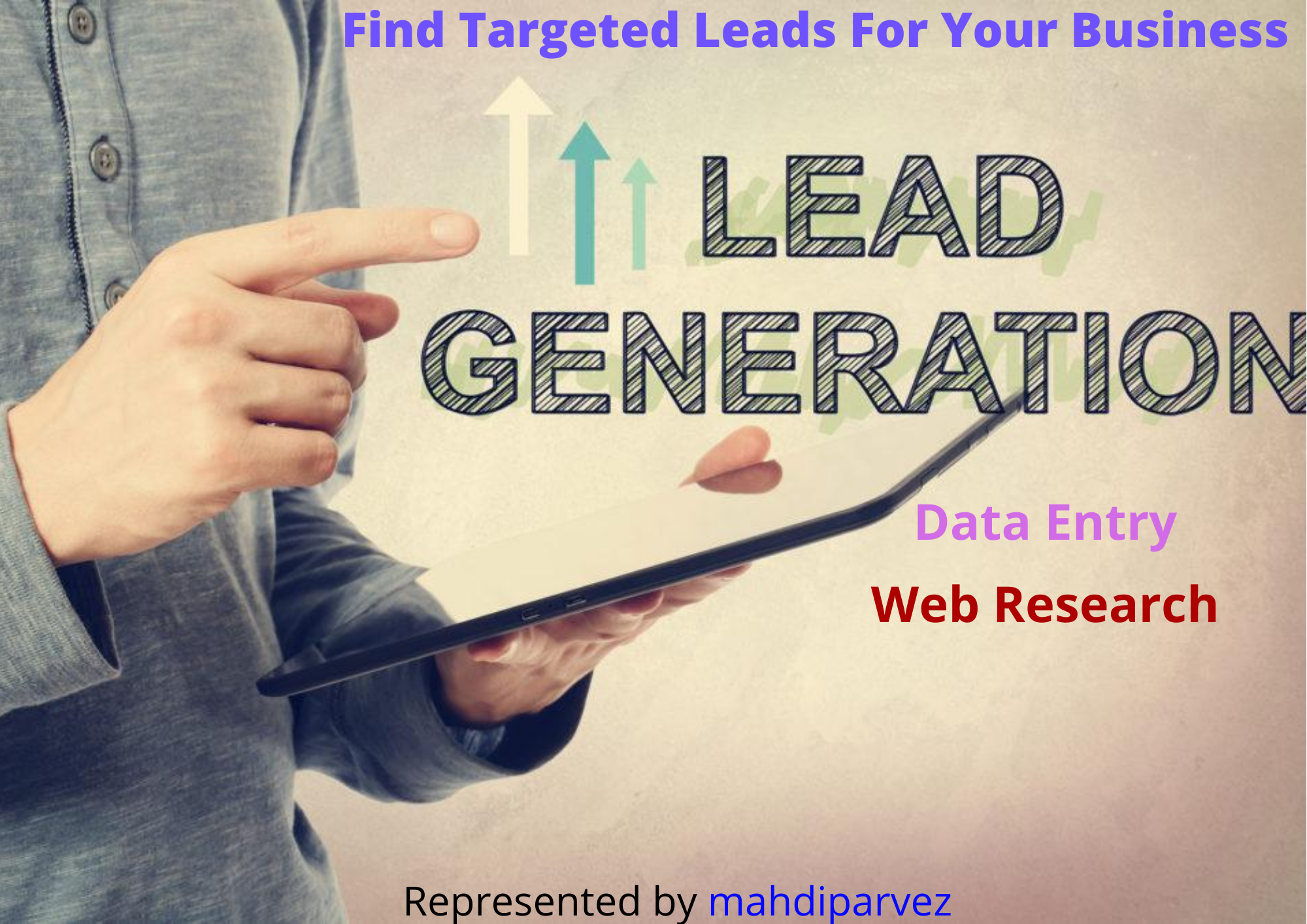I will do b2b lead generation and linkedin lead generation