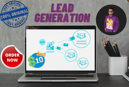 I will do b2b lead generation as per your requirement