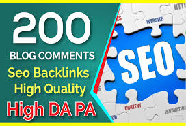i will do 200 backlink manual blog comment high DA dofollow backlink