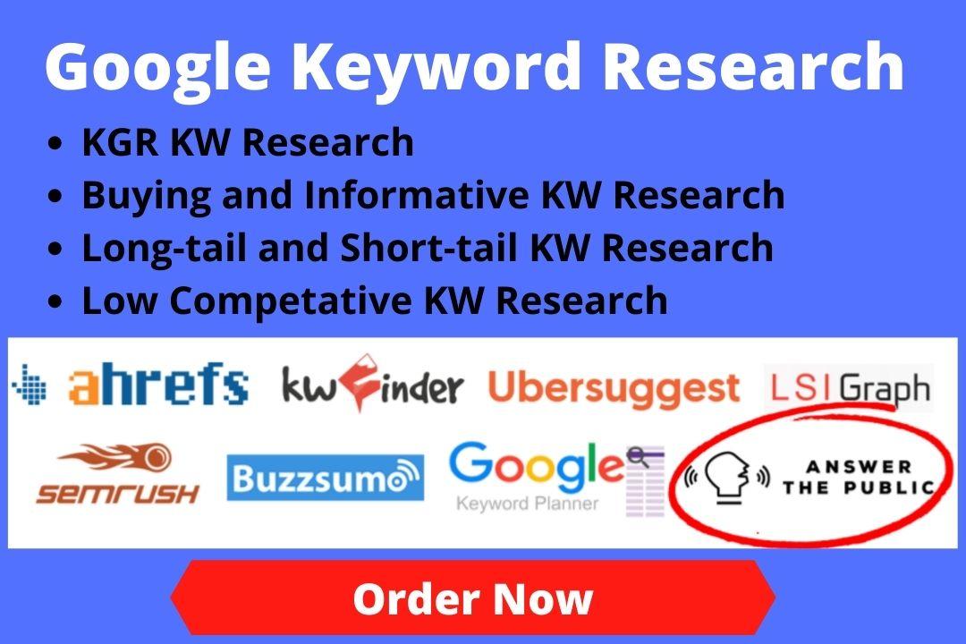 I Will Find You KGR Keyword Golden Ratio Blog Or Affiliate Site