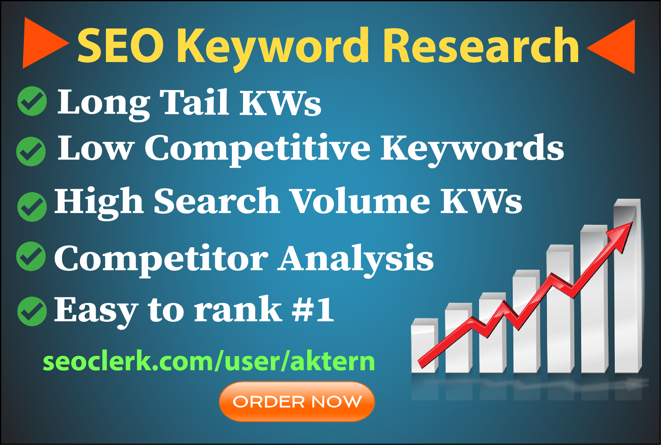 I will do best SEO keyword research for your niche or business