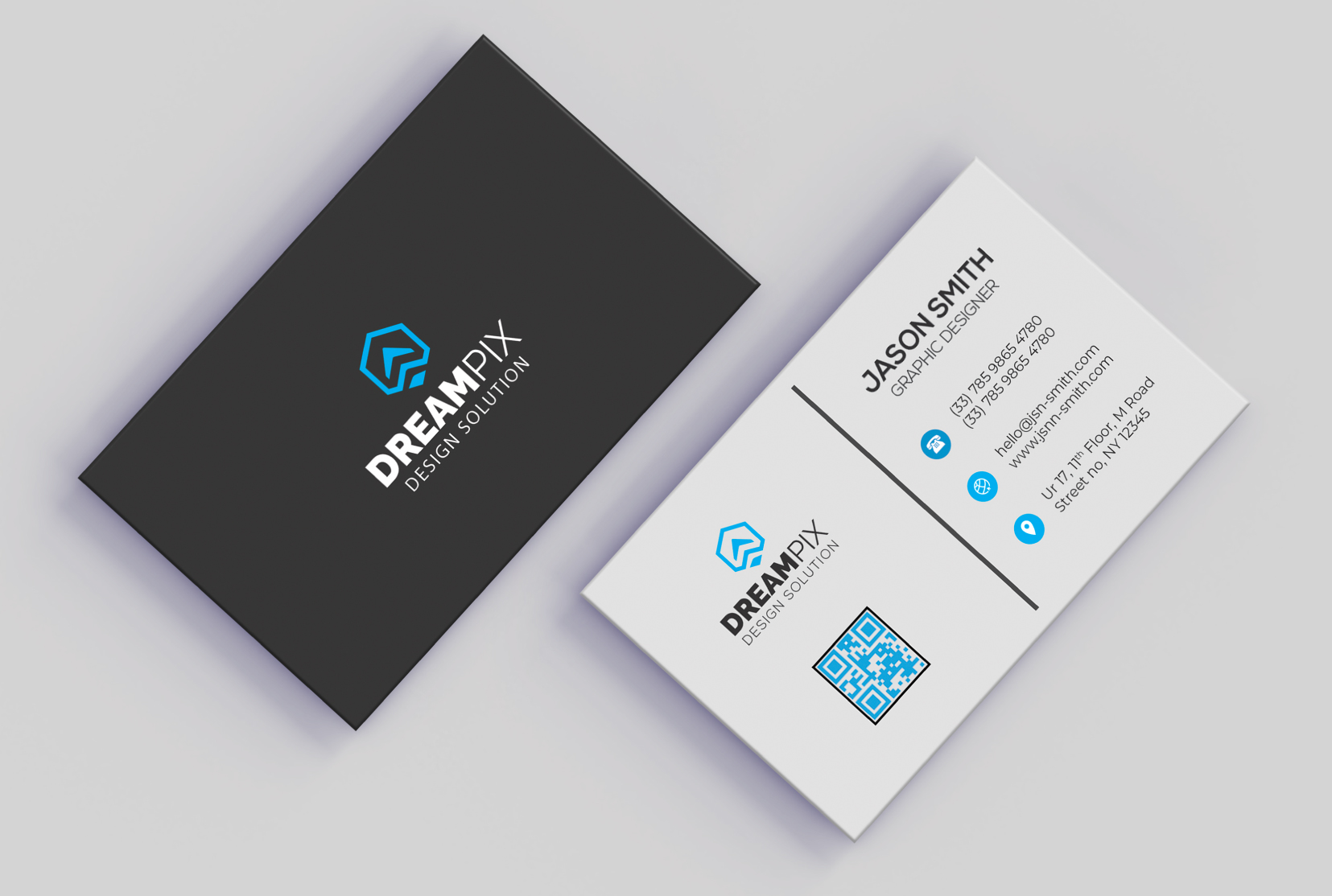 I will do professional business card design services