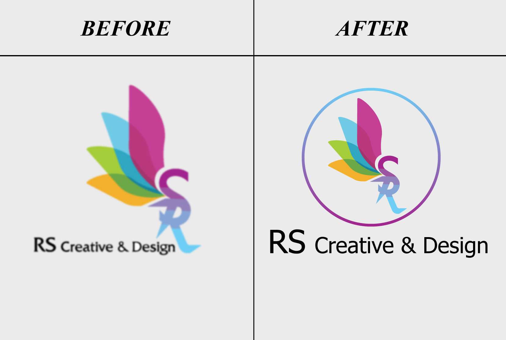 I will redesign, modify, edit or vector your logo creatively