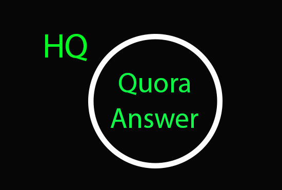 Promote Your Business with 21+ High Quality Quora Answer