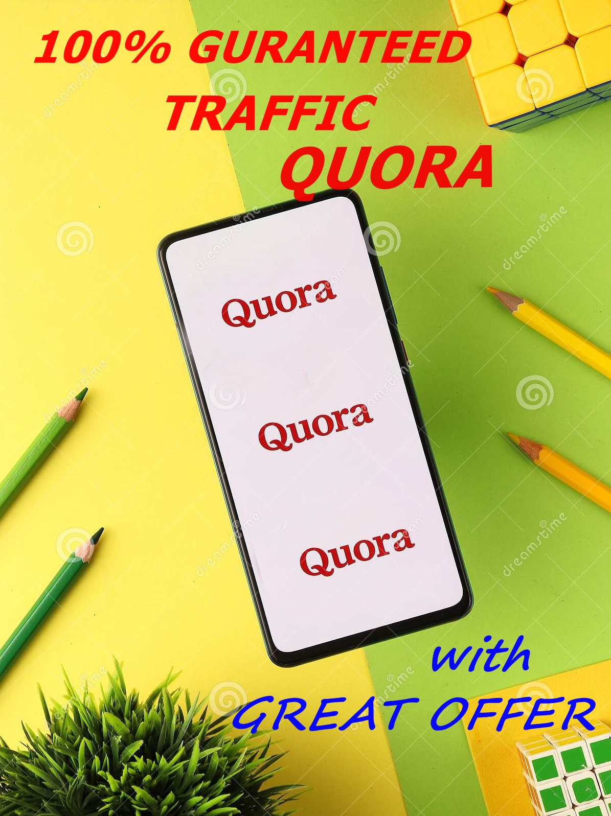 Great Offer Get 30 Answers.100 Guaranteed Traffic on QUORA.