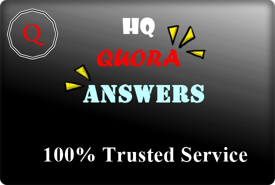 Offer 10 Quora answer for guaranteed targeted traffic