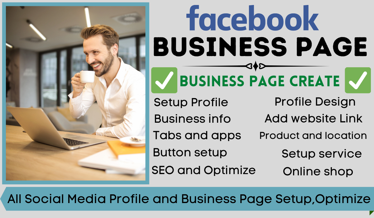 I will develop your any social media profile and facebook business page
