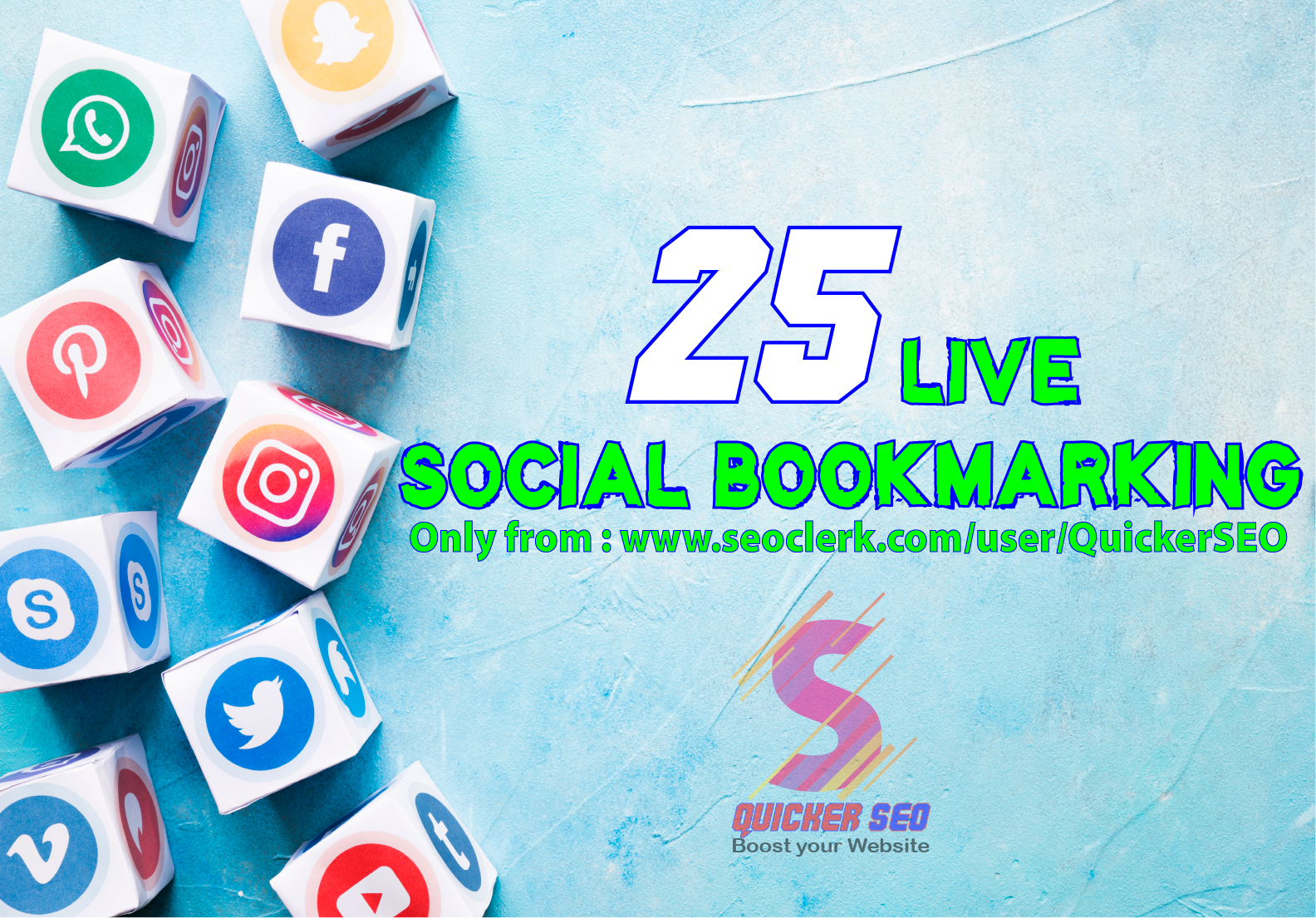 Moment 25 Live Social Bookmarking Links inside 24 hours