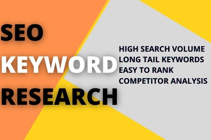 Do keyword researh and competitor analysis on any niche