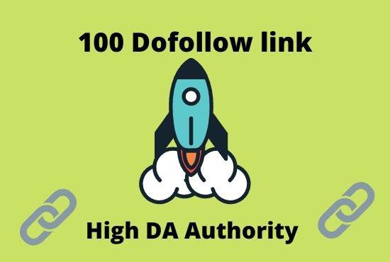 I will provide high quality dofollow backlinks