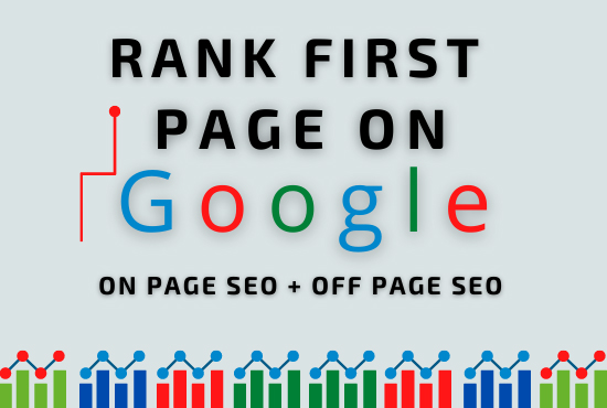 I will do complete seo of your site for first page ranking on google