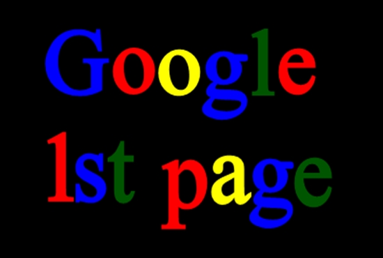 Google 1st Page Ranking with Guaranteed white hat SEO Service