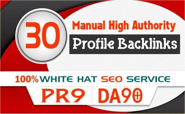 Manually Create 30 Backlinks from High PR-DA Websites best for Your Sep