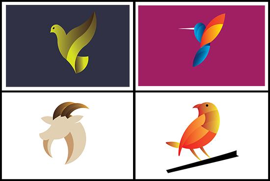 I will do logo design,  with golden Ratio