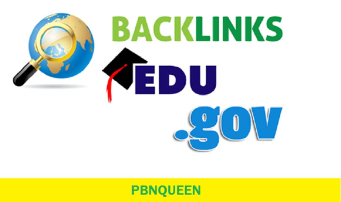 create 50 dofollow edu gov high DA backlinks